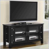 Coaster Black 50 Inch Contemporary Media Console with Doors