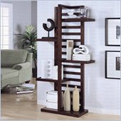 Coaster  Open Shelf Bookcase in Cappuccino