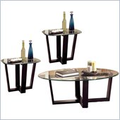 Coaster Howard Contemporary 3 Piece Occasional Table Set