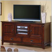 Coaster Mission Style Media Console with Doors and Drawers