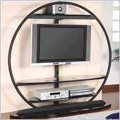 Coaster Metal Global TV Stand with Bracket in Black