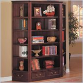 Coaster Center Bookcase in Cappuccino