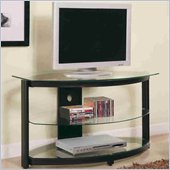 Coaster Contemporary Metal and Glass Media Console