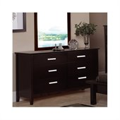 Coaster Cappuccino Brown Dresser