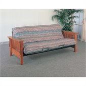 Coaster Mission Style Oak Futon Frame