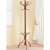 Coaster Coat Racks in Distinctive Walnut Finish