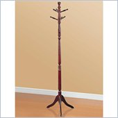 Coaster Classic Coat Rack in Cherry Finish 