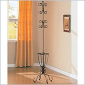 Coaster Metal Coat Rack with Umbrella Holder
