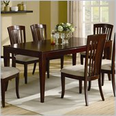 Coaster El Rey Dining Table in Intimate Cherry Finish