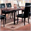 ADD TO YOUR SET: Coaster Soho Oval Dining Table with 18-inch Leaf in Cherry Finish