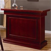 Coaster Mitchell Home Bar Unit with Storage & Game table in Cherry