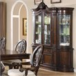 ADD TO YOUR SET: Coaster Tabitha Traditional China Cabinet in Cherry Finish