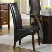 Coaster Rodeo Upholstered Vinyl Dining Side Chair 