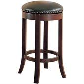 Coaster 29 Inch Swivel Backless Bar Stool