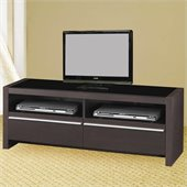 Coaster TV Stands Contemporary Media Console with Shelves and Drawers