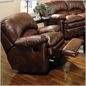 Coaster Walter Reclining Chair in Brown Bonded Leather