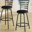 ADD TO YOUR SET: Coaster 24 Inch Metal Bar Stool in Gunmetal