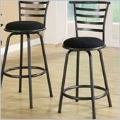 Coaster 24 Inch Metal Bar Stool in Gunmetal  