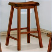 Coaster 29 Inch Wooden Bar Stool in Oak