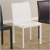 Coaster Dining Side Chair in White