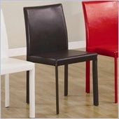 Coaster Dining Side Chair in Chocolate
