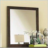 Coaster Tiffany Vertical Dresser Mirror in Deep Brown