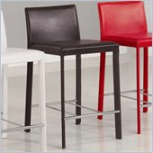 Coaster 24 Inch Bar Stool in Chocolate
