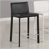 Coaster 24 Inch Bar Stool in Black