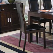 Coaster Morningside Dining Side Chair w/ Faux Leather Seat & Back
