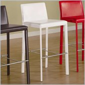 Coaster 29 Inch Bar Stool in White