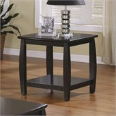 Coaster Coaster Marina End Table with 1 Shelf in Cappuccino Finish