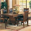 ADD TO YOUR SET: Coaster Westminster Double Pedestal Dining Table in Cherry Finish