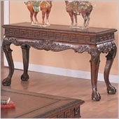 Coaster Wilshire Sofa Table in Dark Brown Finish