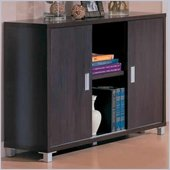 Coaster Decarie Contemporary Storage Credenza with Sliding Doors