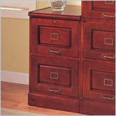 Coaster Palmetto Cherry File Cabinet with 2 Drawers