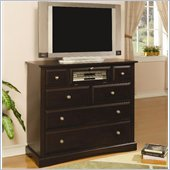 Coaster Harbor TV Stand with Component Storage in Cappuccino Finish