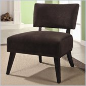 Coaster Accent Seating Upholstered Accent Side Chair in Brown