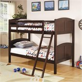 Coaster Twin over Twin Bunk Bed in Cappuccino Finish