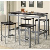 Coaster Altus Counter Height Table and Stool Set