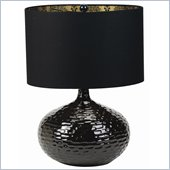 Coaster Contemporary Table Lamp in Black