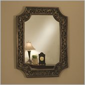 Coaster Accent Scroll Wall Mirror in Bronze
