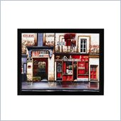 Coaster Wall Art Painting - Red Restaurant