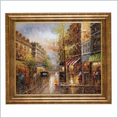 Coaster Wall Art Painting - Rainy Days in Paris