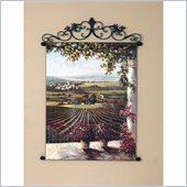 Coaster Wall Art Painting - Vineyard Terrace