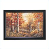 Coaster Wall Art Painting - Colorful Forest