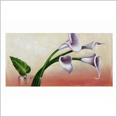 Coaster Wall Art Painting - Calla Lily