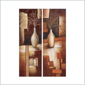 Coaster 2-Piece Wall Art - Autumn Table