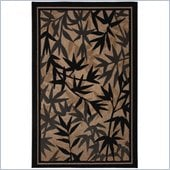Coaster Palm Pattern Rug