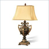 Coaster Table Lamp in Golden Brown