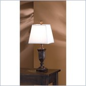 Coaster Traditional Style Table Lamp in Maple
